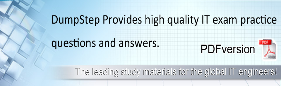 High quality IT exam practice exam questions!